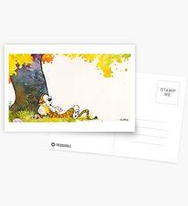 Calvin and Summer - Summer Vacation Postcards