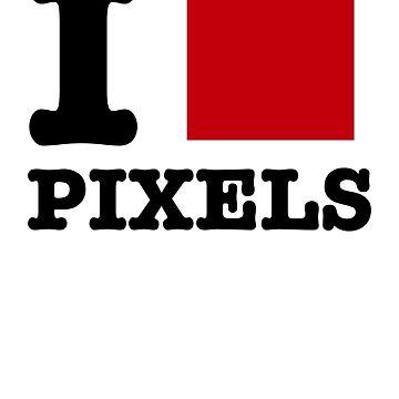 I [] Pixels. by sandywoo