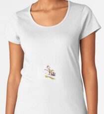 Calvin and Hobbes - Wagon Women's Premium T-Shirt