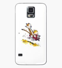Calvin and Hobbes - Wagon Case/Skin for Samsung Galaxy