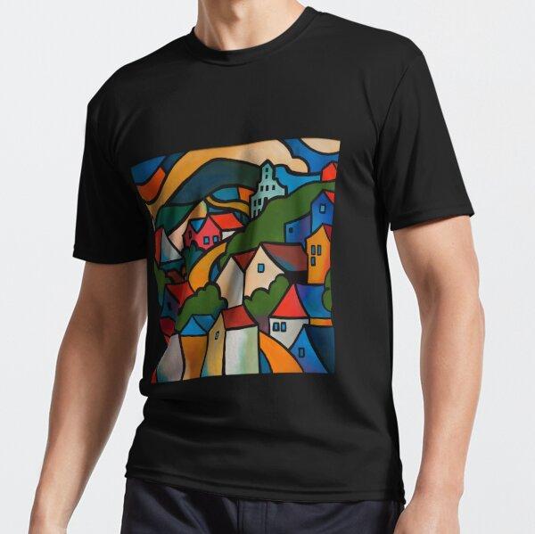 CASCADE BREWERY, HOBART, TASMANIA Active T-Shirt
