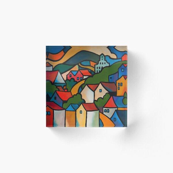CASCADE BREWERY, HOBART, TASMANIA Acrylic Block