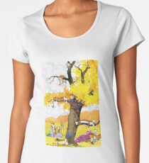 Calvin and Hobbes - Outdoor Compilation Women's Premium T-Shirt
