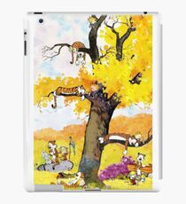 Calvin and Hobbes - Outdoor Compilation iPad Case/Skin