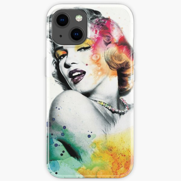 Marilyn Monroe with a twist iPhone Soft Case