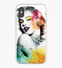 Marilyn Monroe with a twist iPhone Case