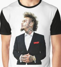 Stitches Rapper Graphic T-Shirt