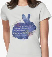 Velveteen Rabbit Quote Women's Fitted T-Shirt