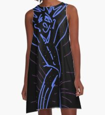 Blu Dancer A-Line Dress