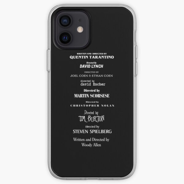 Filmmakers  iPhone Soft Case