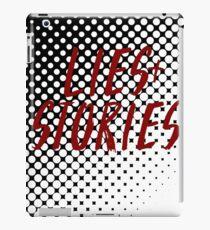 Lies + Stories iPad Case/Skin