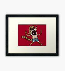 Rigby, The Death Kwon Do Freak Framed Print