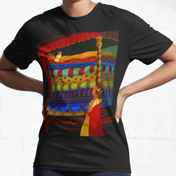 THE PRINCESS AND THE PEA Active T-Shirt