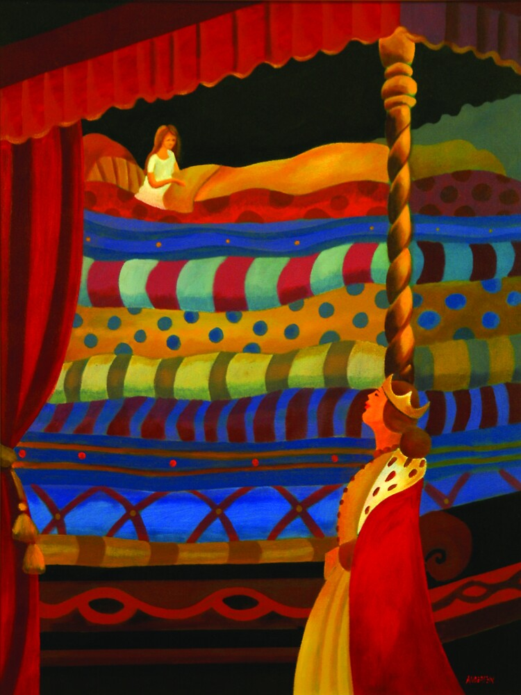 THE PRINCESS AND THE PEA by arttas