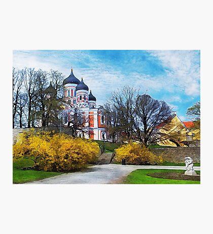Tallinn art 4 #tallinn #city  Photographic Print