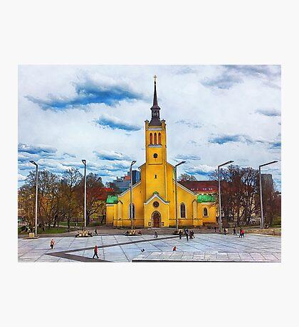 Tallinn art 5 #tallinn #city  Photographic Print