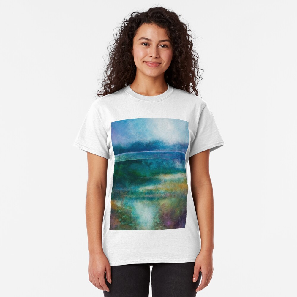 MISTY MORNING, GREAT LAKE Classic T-Shirt