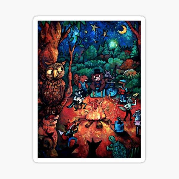 """Deep Woods Jam"" by Chad Elliott Sticker"