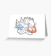 The Classic Duo Greeting Card