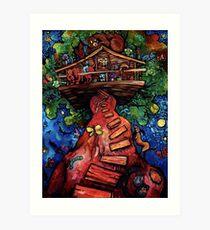 """Treehouse"" by Chad Elliott Art Print"