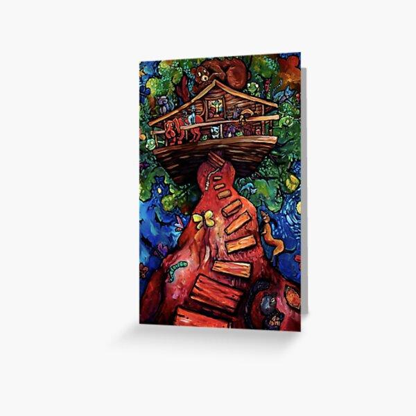 """Treehouse"" by Chad Elliott Greeting Card"