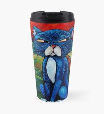 """Toffle the Tomcat"" by Chad Elliott Travel Mug"