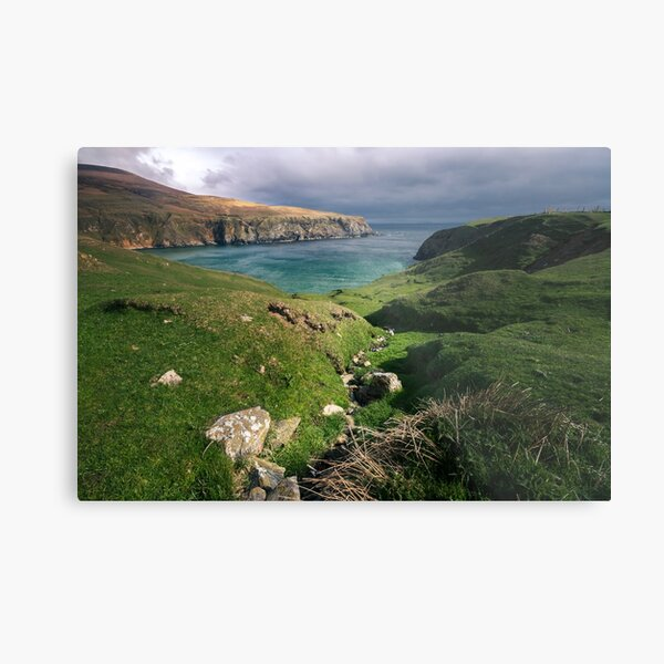 The Silver Strand Metal Print