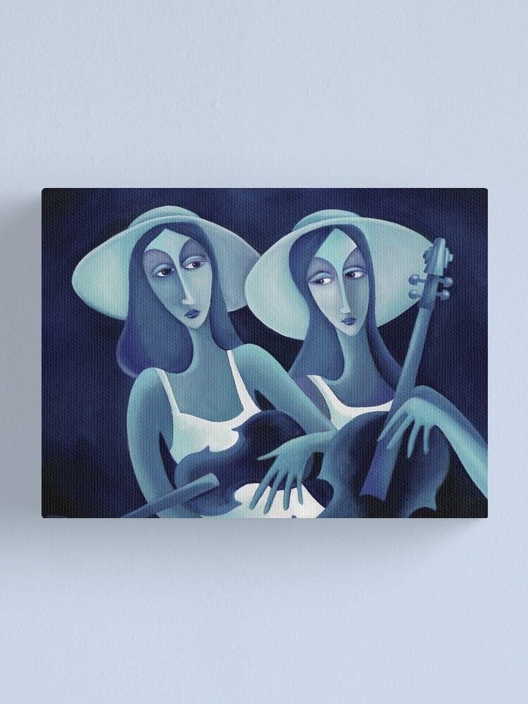 Alternate view of MUSICALE DE JOUR Canvas Print