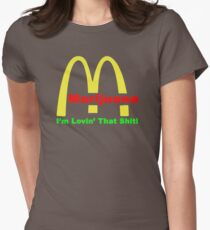 Marijuna I'm Lovin' That Shit ON257 Trending Women's Fitted T-Shirt