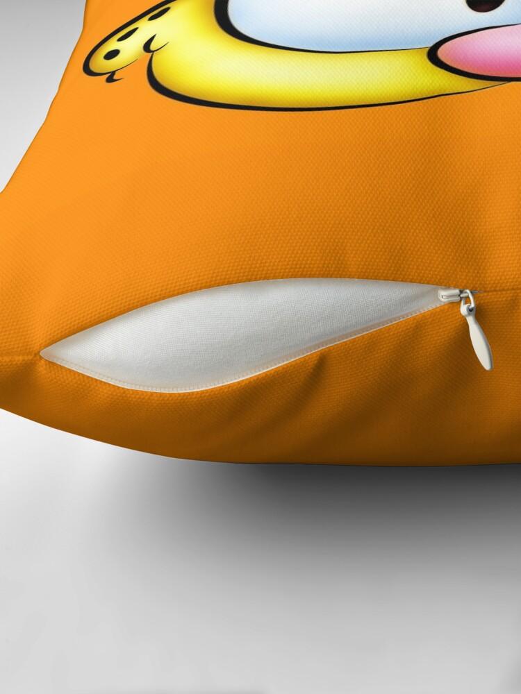 Alternate view of Garfield! Throw Pillow