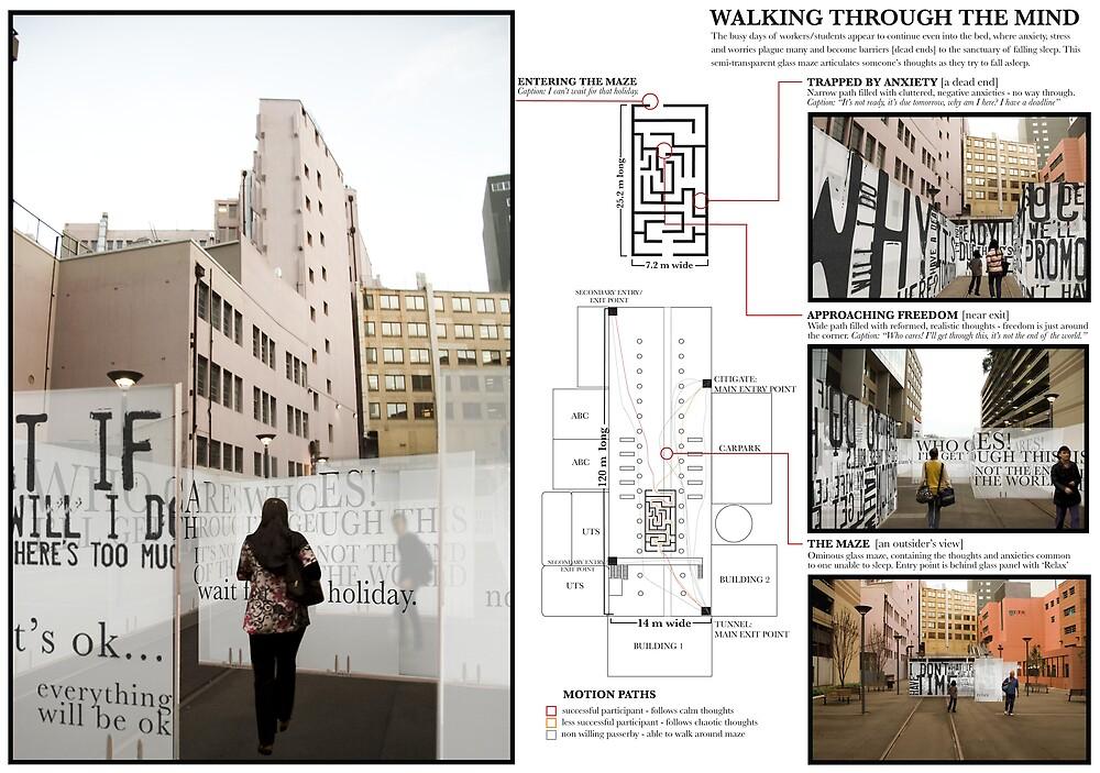Schematic - Walking Through The Mind by jarradspring