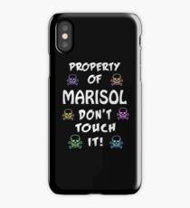 Property of Marisol iPhone Case/Skin