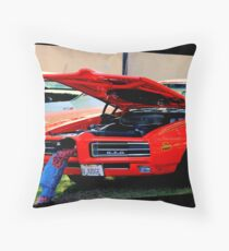 HERE COME DA JUDGE! Throw Pillow