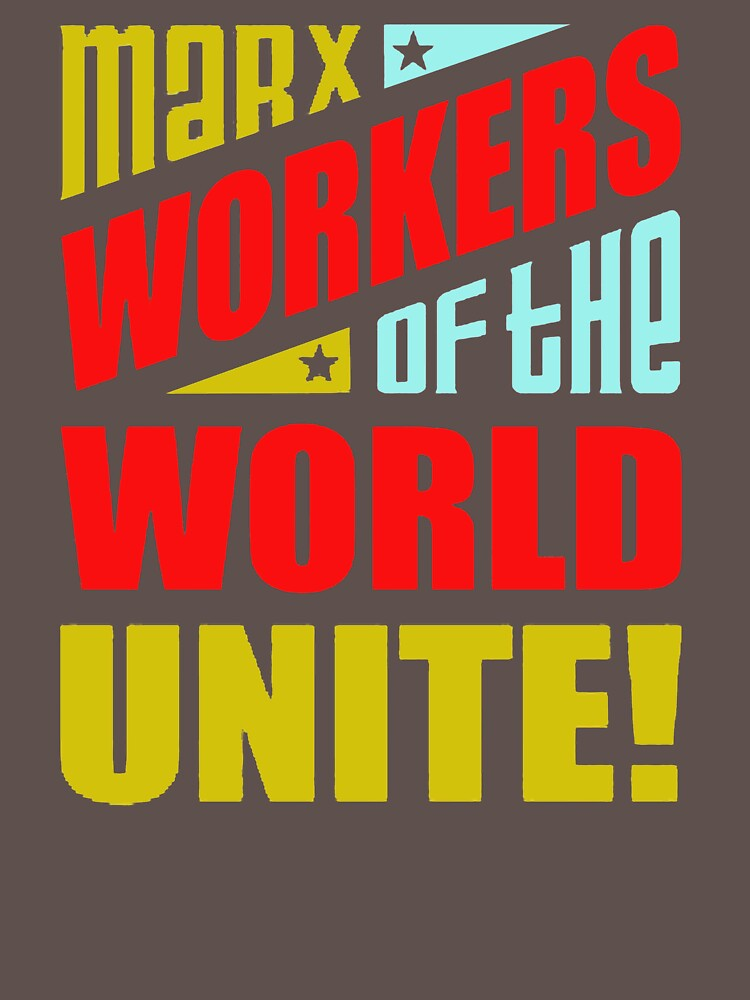 Mark Workers Of The World Unite UO833 Best Product by Anywalks