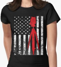 American Surveyor Women's Fitted T-Shirt