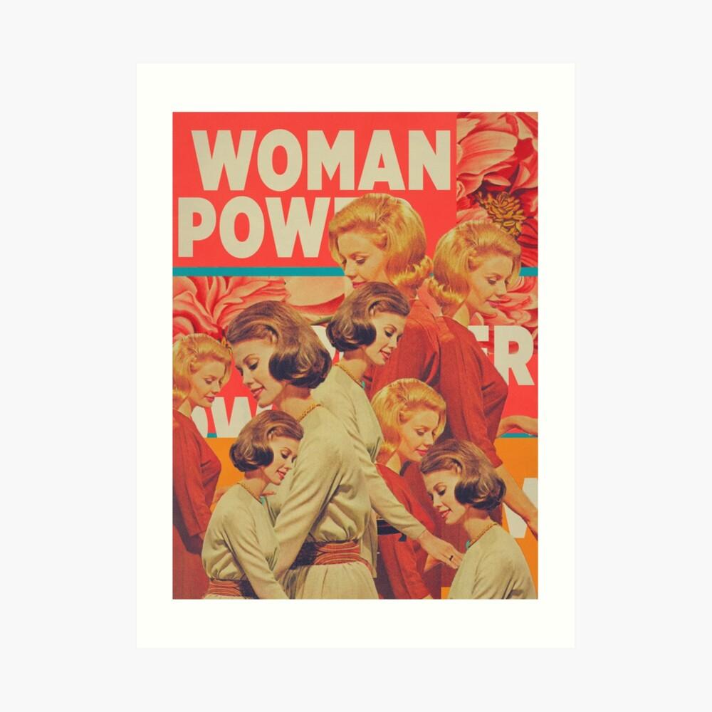 Woman Power Art Print
