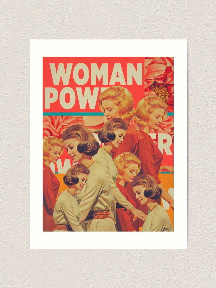 Alternate view of Woman Power Art Print