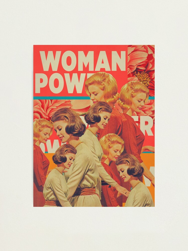 Alternate view of Woman Power Photographic Print