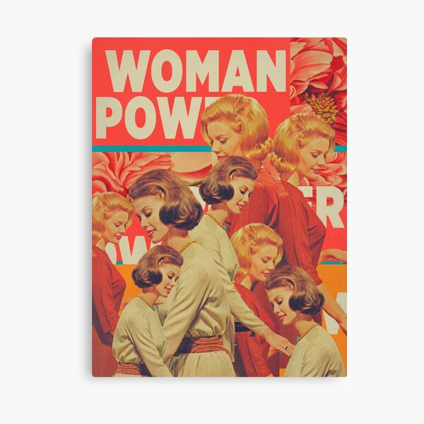 Woman Power Canvas Print