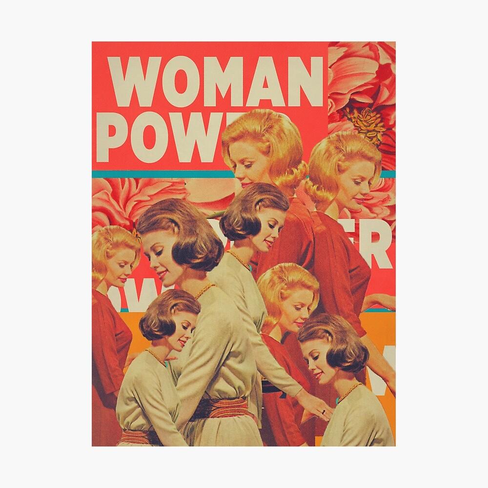 Woman Power Photographic Print
