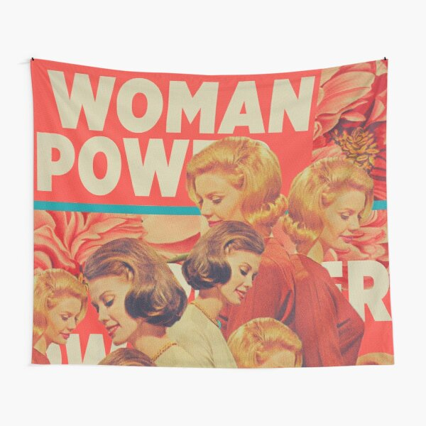 Woman Power Tapestry