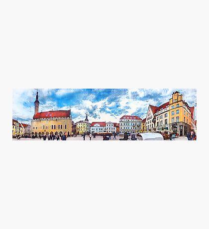 Tallinn art 7 #tallinn #city  Photographic Print