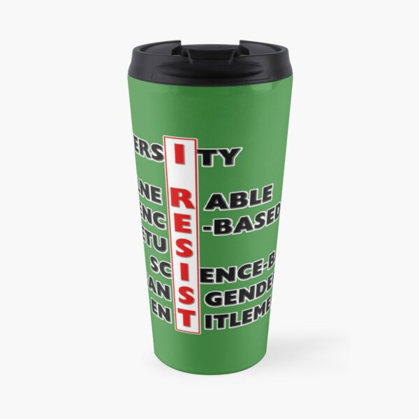 I Resist - Seven Words Travel Mug