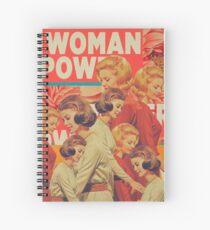 Woman Power Spiral Notebook