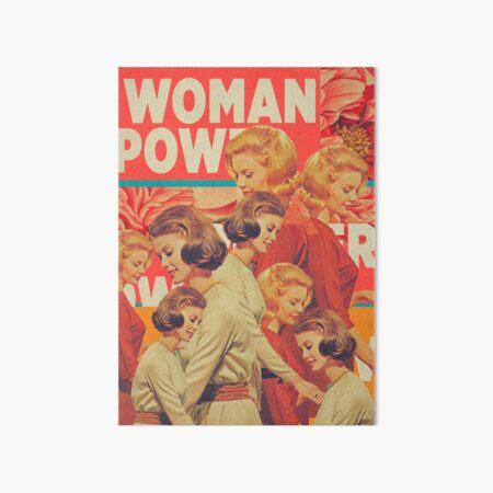 Woman Power Art Board Print