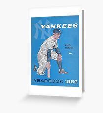 New York Yankees 1959 Birthday Gift for Yankees Born in 1959  Greeting Card