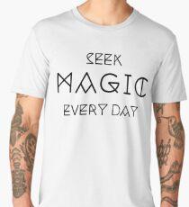 Seek Magic Everyday  Men's Premium T-Shirt