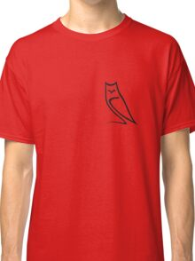 Vector Style Owl Classic T-Shirt