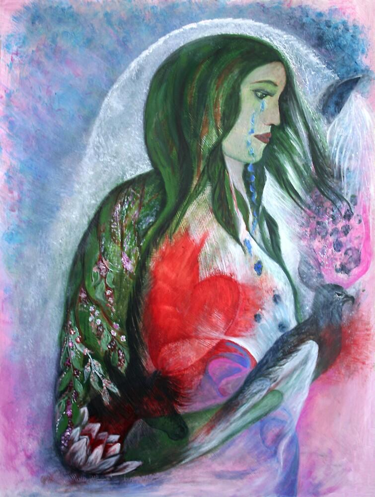 Mother Earths sorrow by janaschmidt