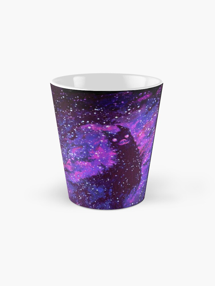 Alternate view of Cosmic Purple Space Llama Mug